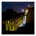 Florence By Night Print