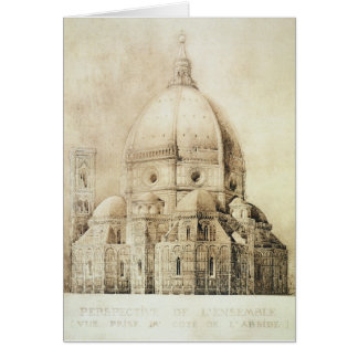 Florence Cathedral from the East, from 'Fragments Card