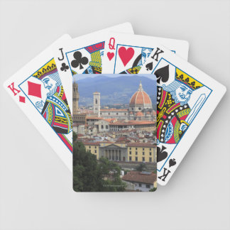 Florence Cityscape Bicycle Playing Cards