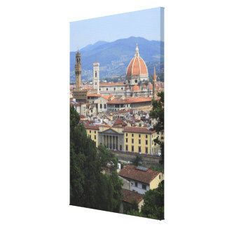Florence Cityscape Gallery Wrapped Canvas