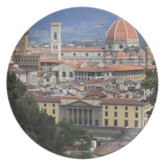 Florence Cityscape Plate