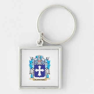 Florence Coat of Arms - Family Crest Key Ring