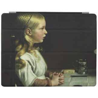 Florence Cope Saying Grace at Dinnertime iPad Cover
