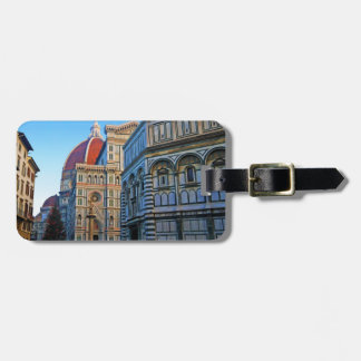 Florence Duomo Cathedral with Love Quote Tags For Luggage