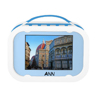 Florence Duomo Cathedral with Love Quote Yubo Lunch Boxes