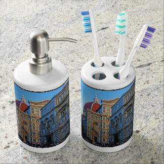 Florence Duomo Cathedral with Love Quote Bathroom Sets