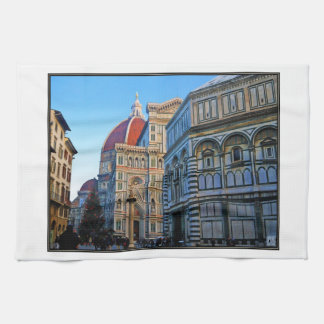 Florence Duomo Cathedral with Love Quote Towels