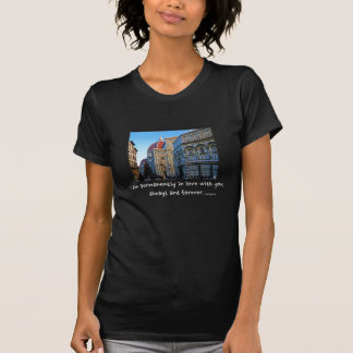Florence Duomo Cathedral with Love Quote Tshirts