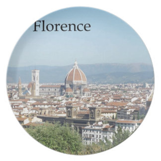 Florence Duomo from Michelangelo Square (new-St.K) Plate