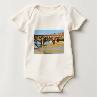 Florence -Firenze, Ponte vecchio Baby Bodysuit