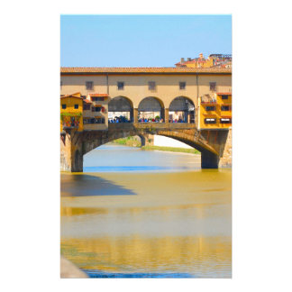 Florence -Firenze, Ponte vecchio Personalised Stationery