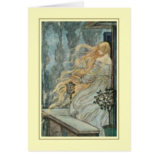 Florence Harrison Greeting Card