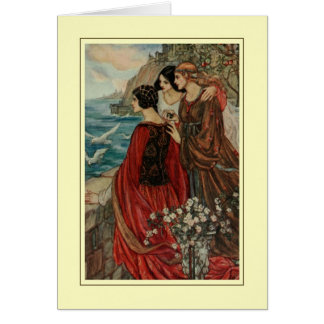 Florence Harrison Greeting Card