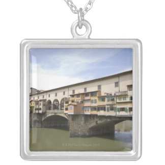 Florence, Italy 5 Silver Plated Necklace
