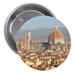 Florence, Italy 7.5 Cm Round Badge