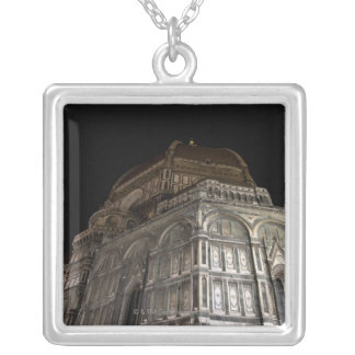 Florence, Italy 7 Silver Plated Necklace