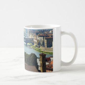 Florence Italy Basic White Mug