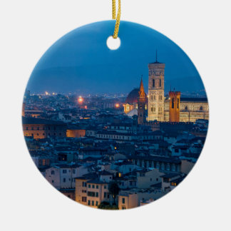 Florence Italy Christmas Ornament