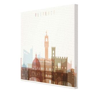 Florence, Italy | City Skyline Canvas Print