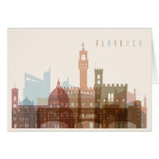 Florence, Italy | City Skyline Card