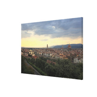 Florence, Italy Cityscape. Gallery Wrapped Canvas