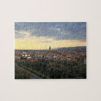 Florence, Italy Cityscape. Jigsaw Puzzle