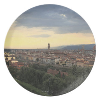 Florence, Italy Cityscape. Plate