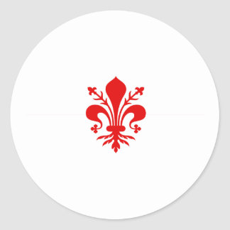 Florence, Italy Classic Round Sticker