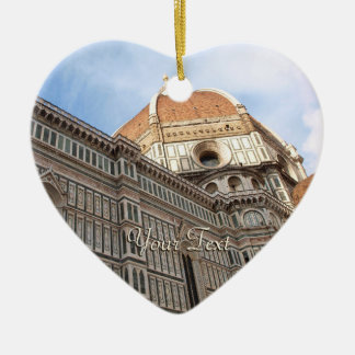 Florence Italy Duomo Holiday Photo Christmas Ornament