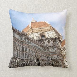 Florence Italy Duomo Holiday Photo Cushion