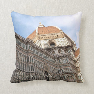 Florence Italy Duomo Holiday Photo Throw Pillow