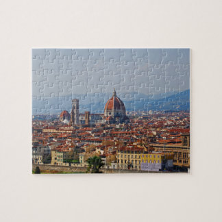 Florence Italy Duomo View Puzzles