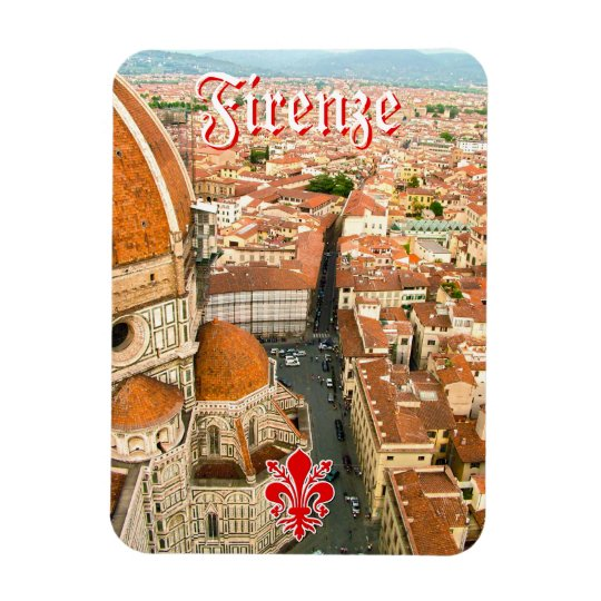 Florence, Italy  - Il Duomo di Firenze Rectangular Photo Magnet