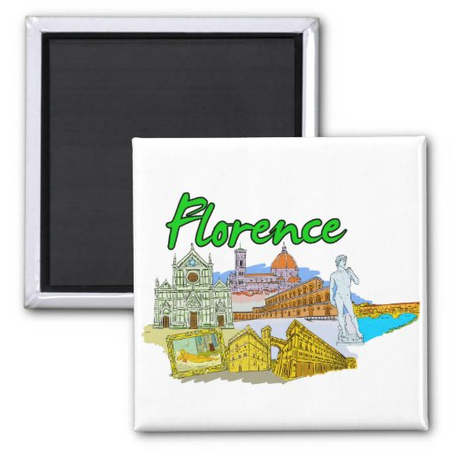 Florence - Italy.png Magnet