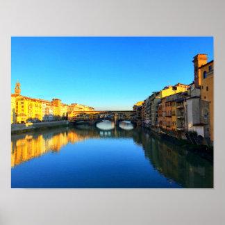 Florence, Italy - Ponte Vecchio Poster