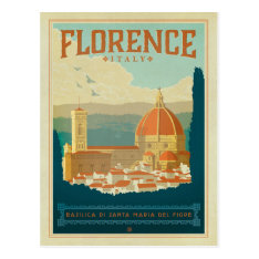 Florence, Italy Postcard at Zazzle