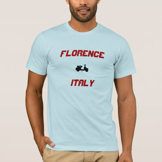 Florence, Italy Scooter T-Shirt