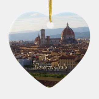 Florence Italy Travel Keepsake Christmas Ornament