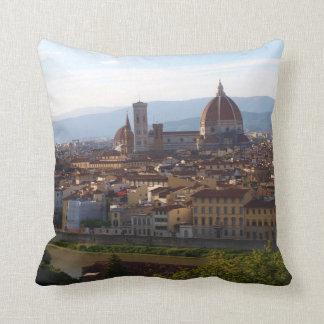 Florence Italy Travel Keepsake Throw Pillow
