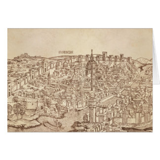 Florence Medieval Woodcut Cards
