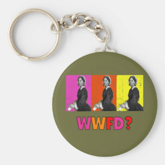 """Florence Nightengale Gifts """"WWFD?"""" Key Chains"""