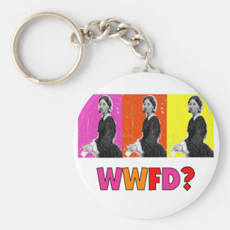 "Florence Nightengale Gifts ""WWFD?"" Key Chain"