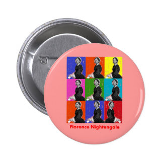 florence nightengale POPART T-Shirts & Gifts 6 Cm Round Badge