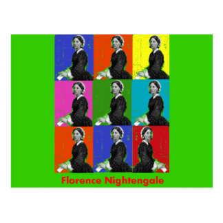 florence nightengale POPART T-Shirts & Gifts Postcard