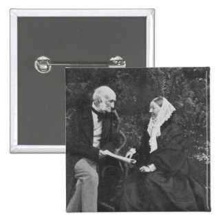 Florence Nightingale and Sir Harry Verney 15 Cm Square Badge