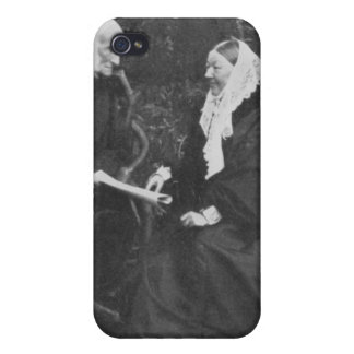 Florence Nightingale and Sir Harry Verney iPhone 4 Covers