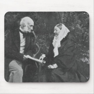 Florence Nightingale and Sir Harry Verney Mouse Pad