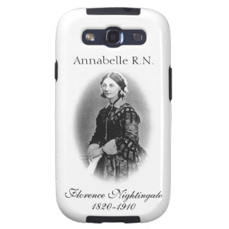Florence Nightingale-Nurse+Personalize Name Galaxy S3 Covers