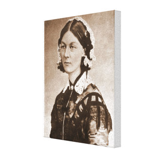 Florence Nightingale Nurse Stretched Canvas Prints