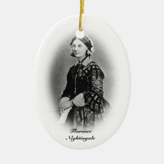 Florence Nightingale-Nursing Graduate+personalize Ceramic Oval Decoration